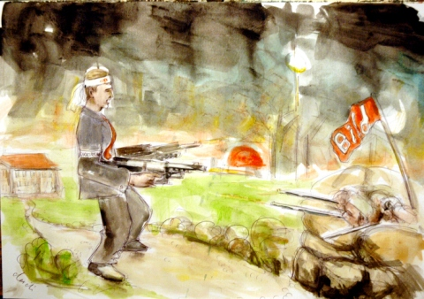 Bundespräsident im Krieg mit BILD