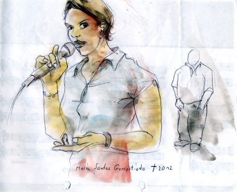 Maria Santos Gorrostieta