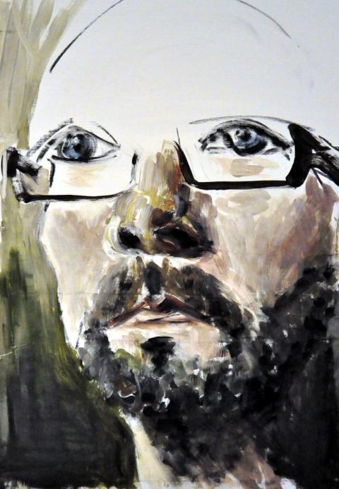Selbstportrait nach oben offen