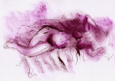 rotviolett 1