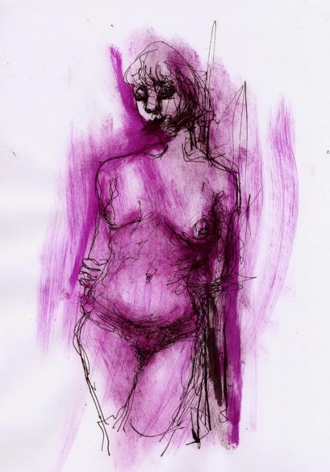 rotviolett 3