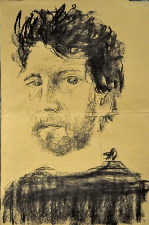 Portrait Kohle Kuli zzto5 Kontr