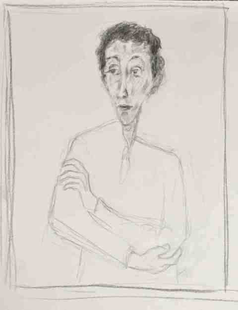 Nach Soutine Portrait de Maria Lani