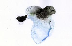 Klecksografische Miniatur xlkjg