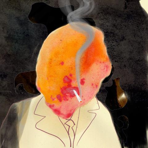 Seine letzte Zigarette