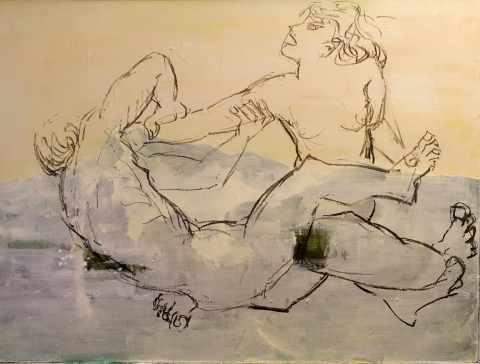 Satyr und Hermaphrodit